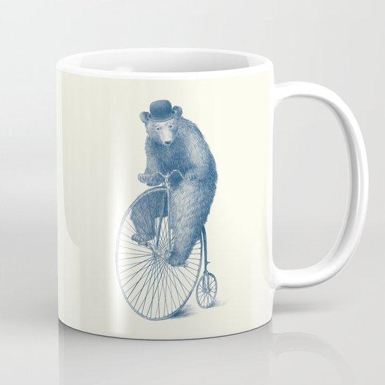 Morning Ride - Blue Option Mug