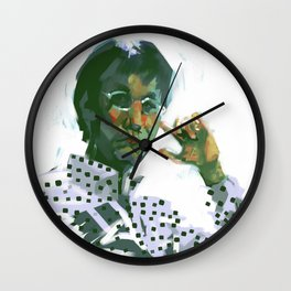 Hideo Kojima Wall Clock