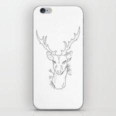 hipster dear iPhone Skin