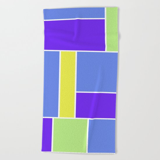 Abstract #461 Beach Towel