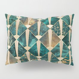 Art Deco Tiles - Ocean Pillow Sham