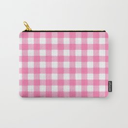 Pink vichy check Carry-All Pouch
