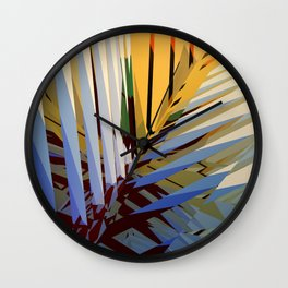 Abstract Composition 670 Wall Clock