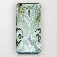 tiffany iPhone & iPod Skins featuring tiffany lake by Ariadne