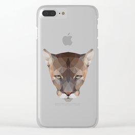 Polygon Puma Clear iPhone Case