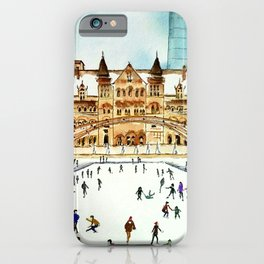 Late Afternoon Skate iPhone Case