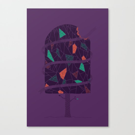 Tasty Tree Canvas Print
