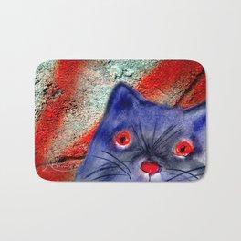 Gordon The Graffiti Cat Bath Mat