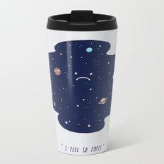 Negative Space Metal Travel Mug