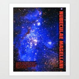Magellanic Cloud Art Print