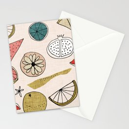 Pop Fruit Pearl Stationery Cards
