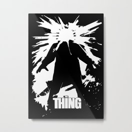 The Thing - John Carpenter Metal Print