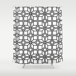 5050 No.7 Shower Curtain