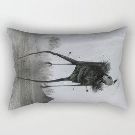 The Visit Rectangular Pillow