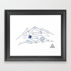 Make My Hands Famous - Part IV Framed Art Print