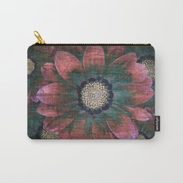 hippie flowers Carry-All Pouch