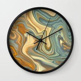 Abstract marble art Wall Clock