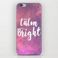 Calm & Bright iPhone & iPod Skin