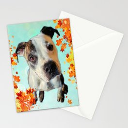 Jess Autumn Leaves Stationery Cards