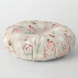 Xmas Pattern #socieyt6 #buyart Floor Pillow