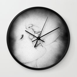 a piece of me died that night Wall Clock