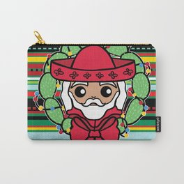 Santa Claus Serape Carry-All Pouch