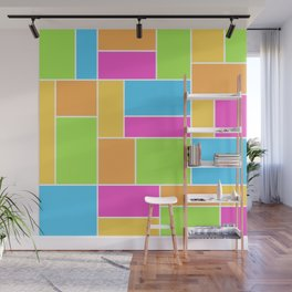 Bright Composition Wall Mural