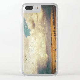The Faraway Fields Clear iPhone Case