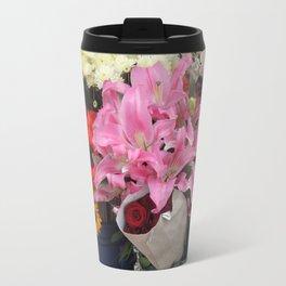 Cuenca Flower Market Travel Mug
