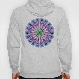 Artistic fantasy flower mandala Hoody