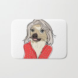 Celebrity Dogs-Kelly Ruff-A Bath Mat