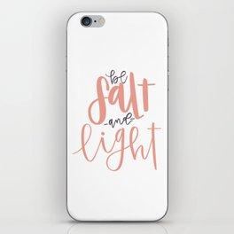 Salt + Light iPhone Skin