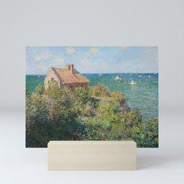 Fisherman's Cottage at Varengeville by Claude Monet Mini Art Print