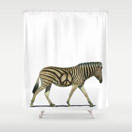 Peace Stripes Shower Curtain