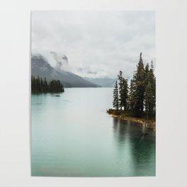 Landscape Photography Maligne Lake Poster