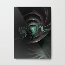 Space Funnels Metal Print