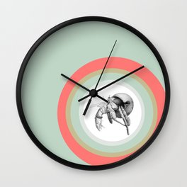 Сancer hermit crab  Wall Clock