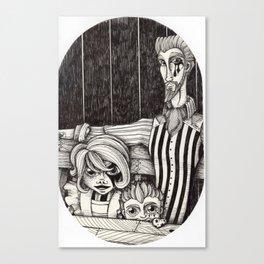 Sunny, Asa and Tristan Canvas Print