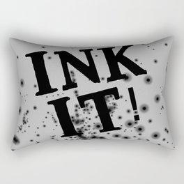 Ink it! Rectangular Pillow