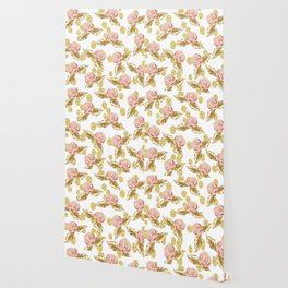 Pink n Gold Wallpaper