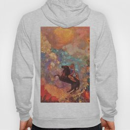 "Odilon Redon ""Muse on Pegasus"" Hoody"