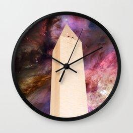 Celestial Washington Monument Wall Clock
