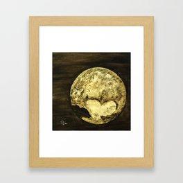 Universal Love from Pluto Framed Art Print