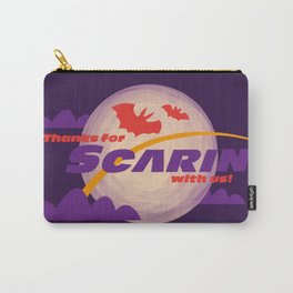 Scarin' all over the World Carry-All Pouch