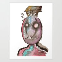 stitch Art Prints featuring Stitch by Dead Rabbit
