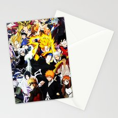 anime all Stationery Cards