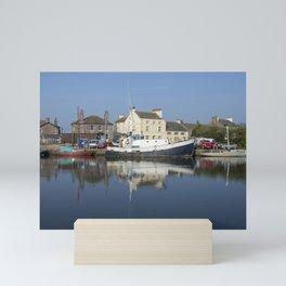 Trefusis GY242 at Glasson Dock Mini Art Print