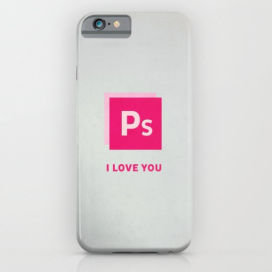 Ps I love you iPhone & iPod Case