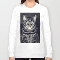 austin Long Sleeve T-shirts featuring Austin by Rachel's Pet Portraits