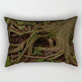 The Gaian gymnosperm Rectangular Pillow